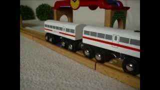 Brio Holzeisenbahn Verschwundene Passagiere? Wooden Train Dissapearing Passengers? Kinderkanal