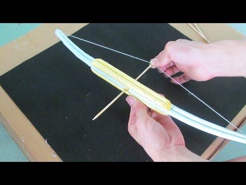 용지를 사용하여 매우 강한 활을 만드는 방법