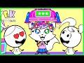 Best Hairstyles of Emma & Kate! EK Doodles Cute DIY Easy Hair Tips for Kids !!!
