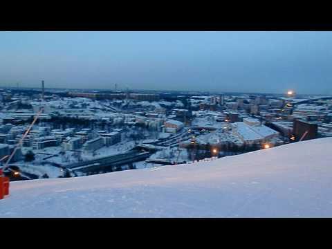 Hammarbybacken - 24.02.2010 - Skiing in Stockholm