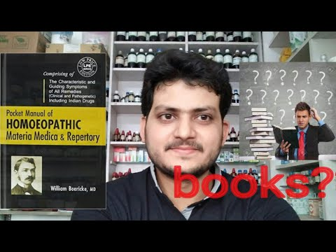 Best Homeopathic Books? How To Become A Good Homeopathic Dr. Part2! Boericke Materia Medica? Explain