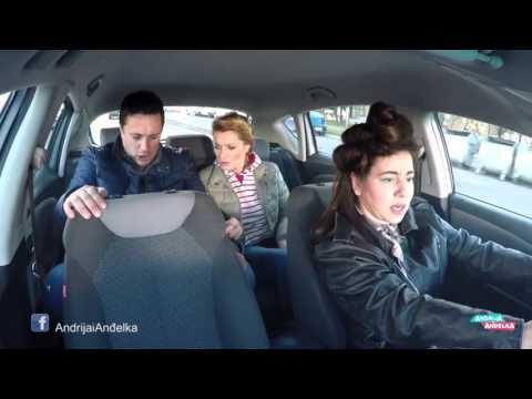 Andrija i Andjelka -  Taxi ludilo
