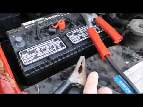 How to charge a dead battery
