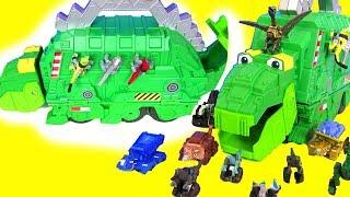 #МУЛЬТИКИ ПРО ДИНОЗАВРОВ DINOTRUX #ВИДЕО ДЛЯ ДЕТЕЙ! ДИНОТРАКС! Динозавры! Игры для детей