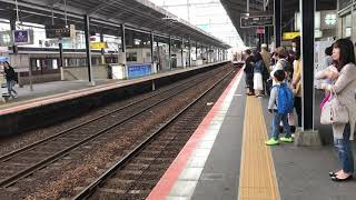 急行五十鈴川行きVX11+H26四日市入線