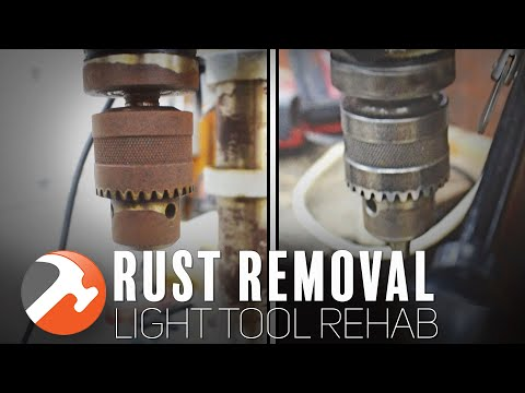 How I Remove Rust From Power Tools (without Vinegar) - Light Tool Rehab