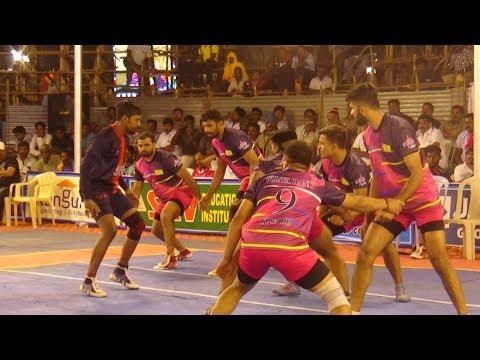 QF - Postal Chennai vs Vijaya Bank Bangalore | All India 'A' Grade Kabaddi Tournament | Pongal 2019