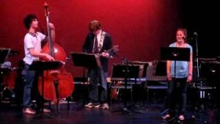 Branson School Jazz Trio playing Twilight World by Marian McPartland
