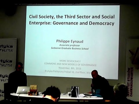 prof. Philippe Eynaud | Civil Society, the Third Sector and Social Enterprise