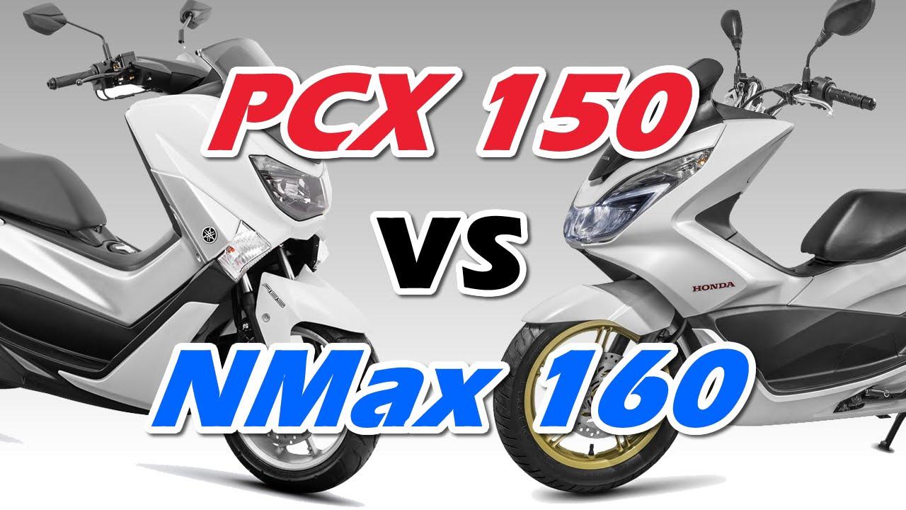 Comparação Yamaha NMax 160 x Honda PCX 150 2016 - Motorede ...