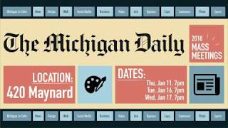 Join The Michigan Daily!