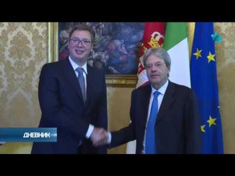 Vučić u Rimu: Još snažnija podrška Srbiji na EU putu