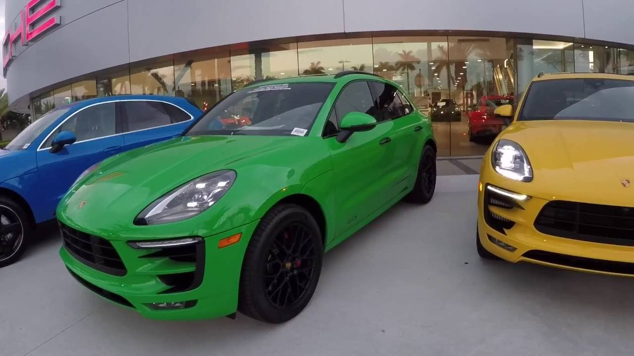 Paint To Sample Porsche Exclusive Line Up Porsche West