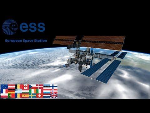KSP: Building a European Space Station (ESS)