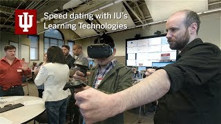 Speed dating with Learning Technologies at IU