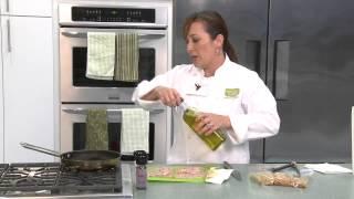 Lemon Pepper Chicken W/ Strawberry & Almond Salad