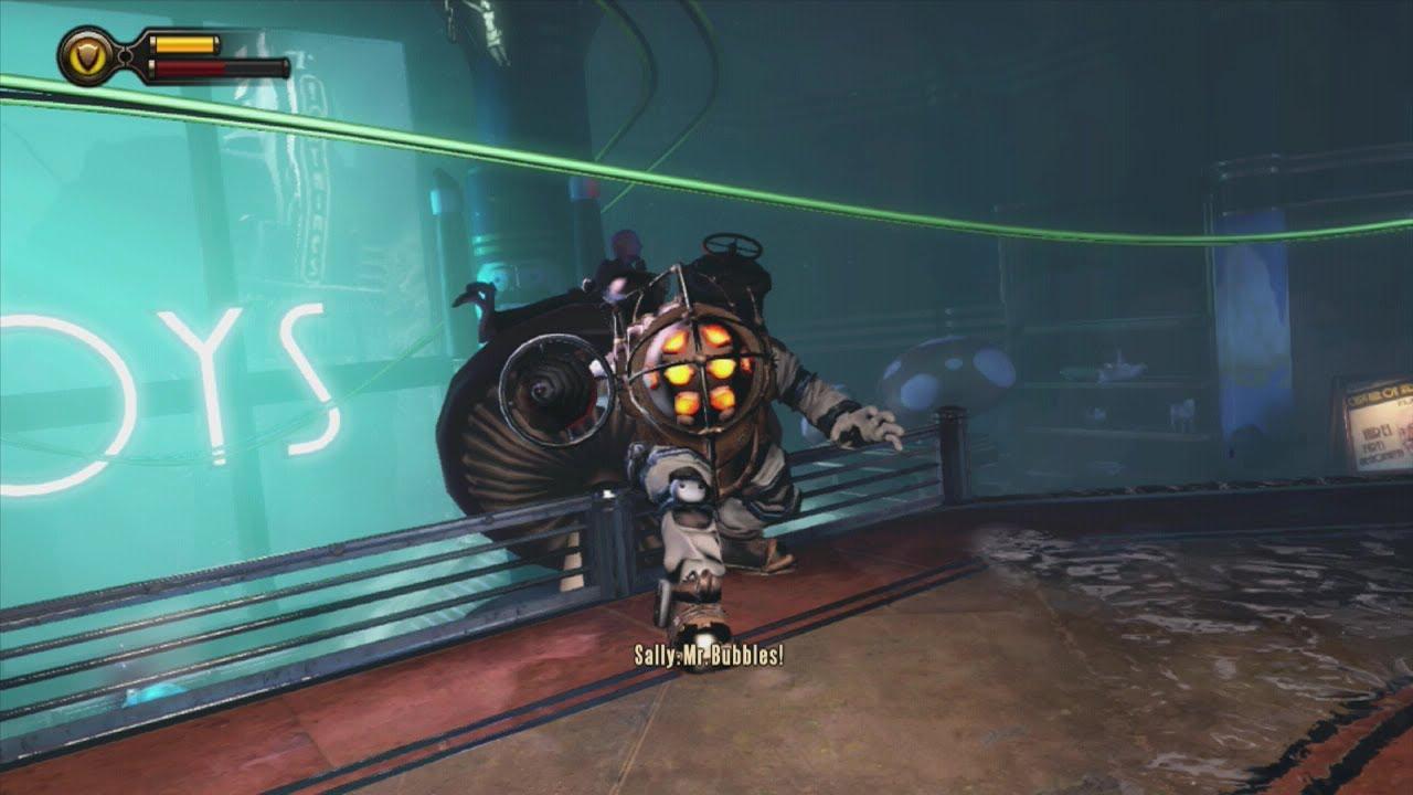 Mr Bubbles Bioshock Infinite Burial At Sea Episode