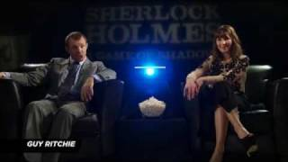 Guy Ritchie On Directing SHERLOCK HOLMES: Game Of Shadows Action Scenes (Cinemax)