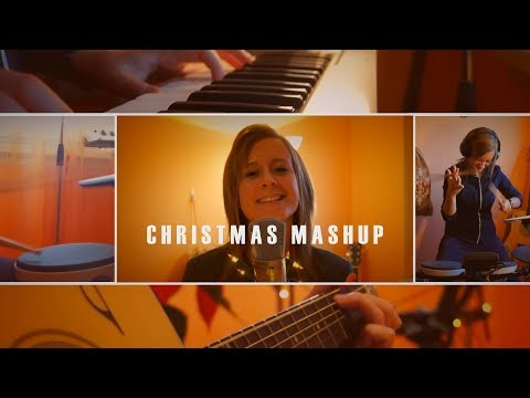 Christmas Mashup - full band cover