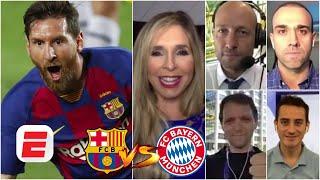 Barcelona vs Bayern Munich | PREVIA y PREDICCIONES | Barsa NECESITARÁ de un impecable Lionel Messi