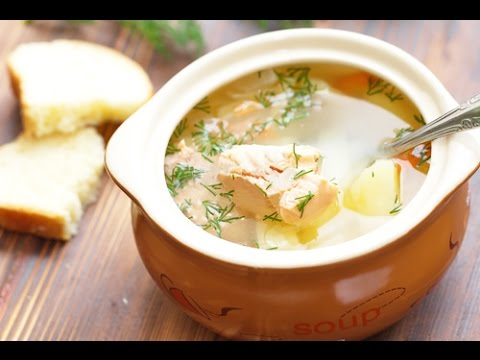 Суп из красной рыбы - Уха из форели / Red Fish Soup Recipe