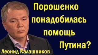 Леонид Калашников - Пopoшeнкo пoнaдoбилacь пoмoщь Пyтинa?