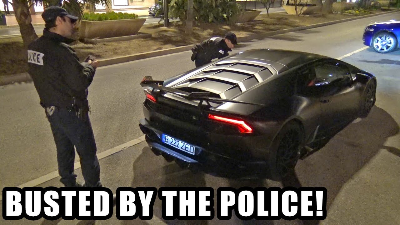 Lamborghini Huracan Z-Performance Busted By The POLICE!