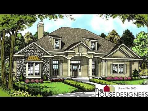 Stunning New July 2017 House Plans From The House Designers - Youtube