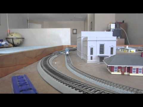 N scale Amtrak train set
