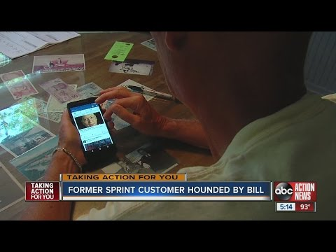 Former Sprint customer hounded by bill