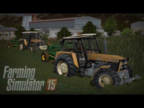 Gospodarstwo Rolne #4 ☆ Farming Simulator 15 Multiplayer - Slovakia Map ☆ Ursusowe sianokosy ㋡