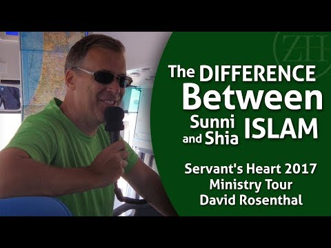 The Difference Between Sunni and Shia Muslims and the Conflict in Syria  with David Rosenthal