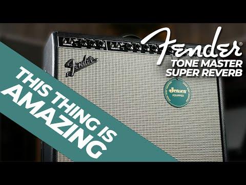 This Amp is AMAZING!   Fender Tone Master Super Reverb