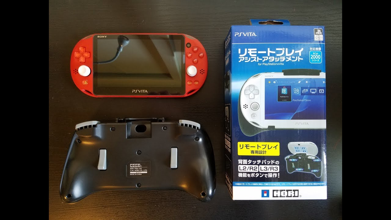 Remote Play Assist Attachment for the Playstation Vita Slim by HORI -  Unboxing and Review