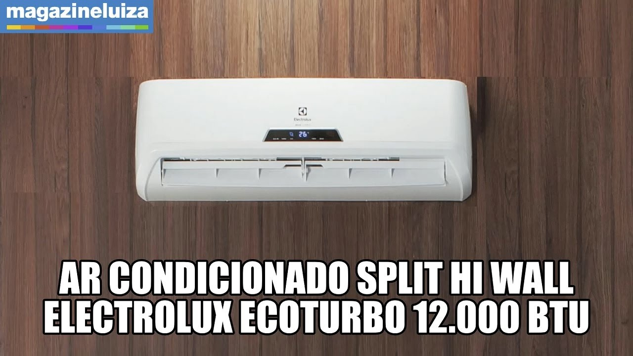 Ar Condicionado Split Hi Wall Electrolux Ecoturbo 12.000 BTU/h - 220 Volts OFERTA ESPECIAL
