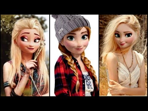 Disney Princesses Would Look Like In 2017 - Disney Princesses in Real life
