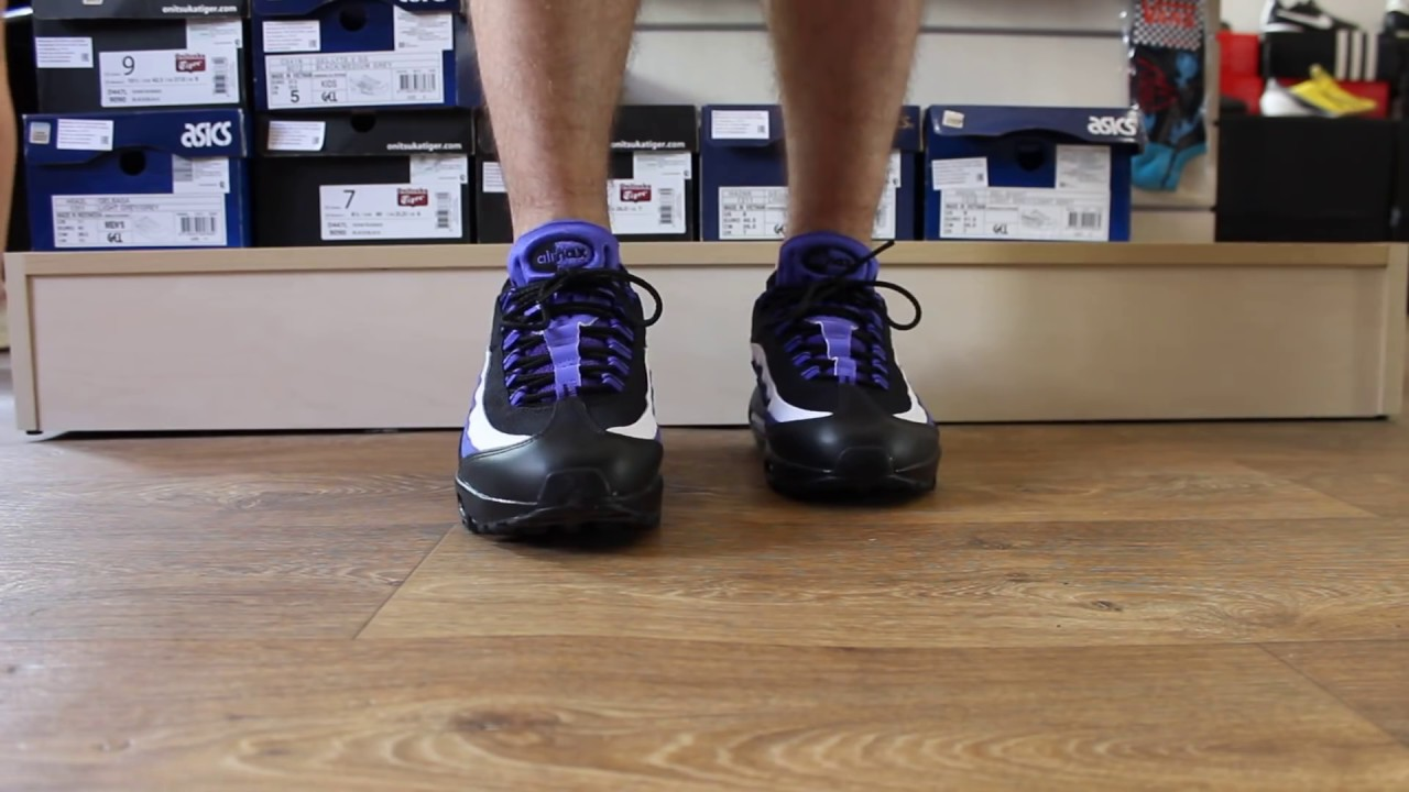 info for 59d84 6422d Nike Air Max 95 Black Persian Violet   sneakers.by