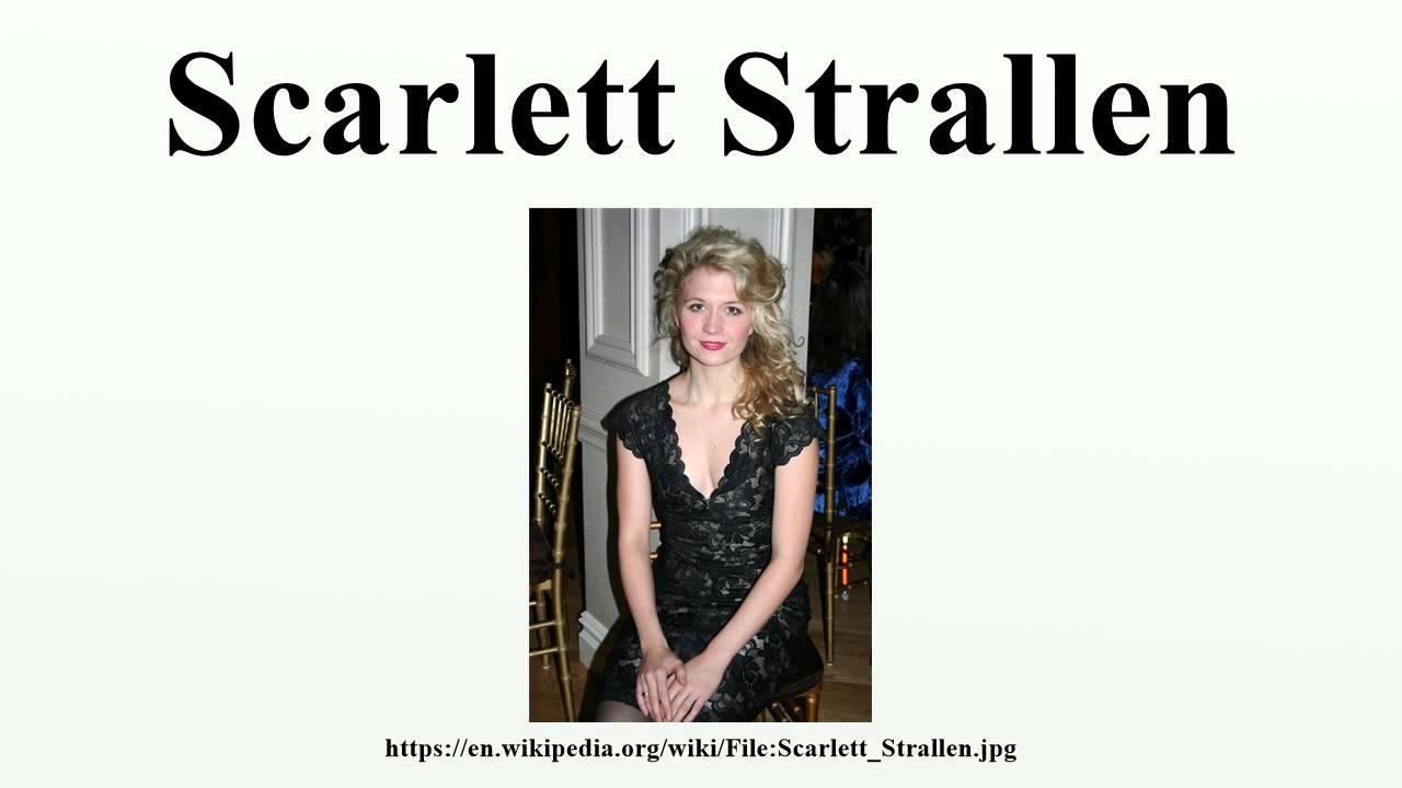 Scarlett Strallen (born 1982)