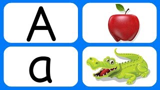 Learn A B C D | A for Apple | ABCD Song | A to Z Alphabet Learning | ABCD Poem | Cartoon Video