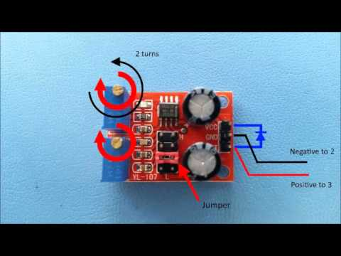 Bypass Garage Door Sensor Using 555 Timer Youtube