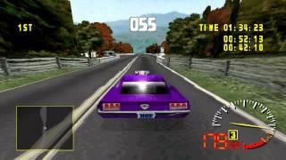 Retrogaming : Test Drive 5 - Blue Ridge Parkway