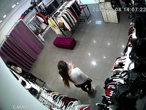8 сентября - кража туфлей из примерочной / камера с зала