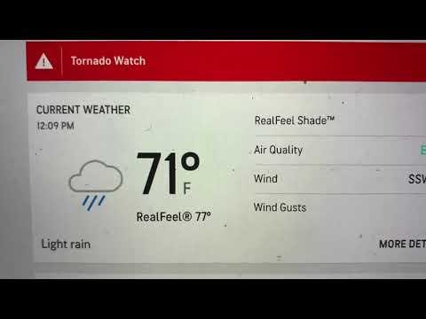 Tornado Watch For Fayetteville GA, Atlanta Metro Area Til 4 PM Today May 3