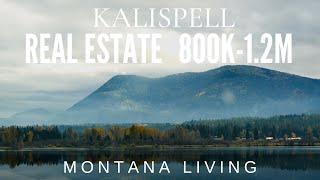 2021 Kalispell, Montana Houses 800K - 1.2M