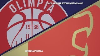 HIGHLIGHTS/ AX Armani Exchange Milano - OriOra Pistoia 83-63