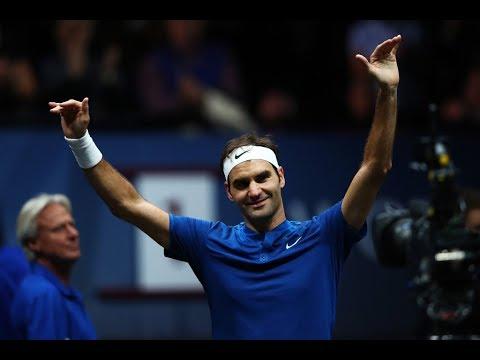 Roger Federer vs Sam Querrey - Laver Cup Highlights HD
