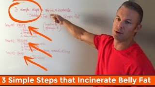 3 Simple Steps That Shrink & Incinerate