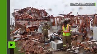 Destruction et inondations gravissimes dans le sillage de l'ouragan Harvey au Texas