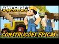 Minecraft Mod: CASAS EM 1 CLIQUE! (Prédios e Casas // Instant Structures Mod)