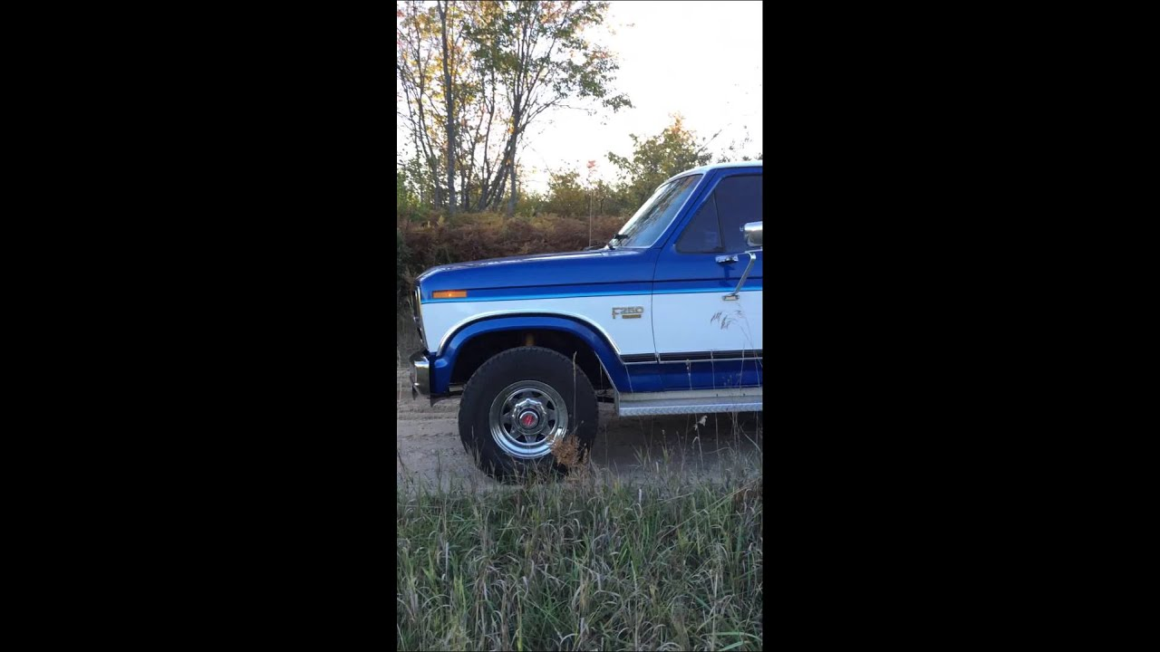 1986 Ford F250 4x4 Lariat Youtube